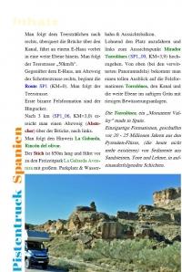 Spanien Pistentruck (17 Pisten) Deutsch
