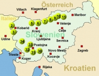 Slowenien 1 (14 Offroadstrecken) Deutsch