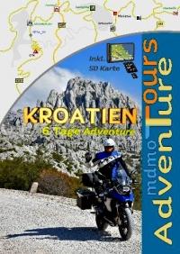 Buch Kroatien Adventure (Deutsch)