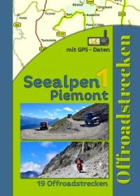 Seealpen 1 Piemont (19 Offroadstrecken) Deutsch