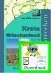 Kreta Offroadstrecken (nur GPS Daten)