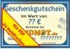 Geschenkgutschein (PDF) per Email