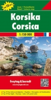 Korsika Landkarte 1:150.000