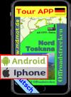 Toskana-Nord Offroadstrecken (Handy-TourenAPP)
