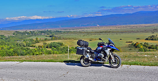 Triumph Tiger Adventure Kroatien
