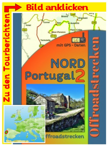 Tourenbuch Offroad Portugal Nord