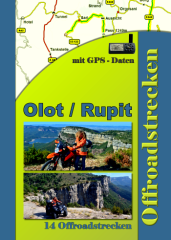 Tourenburch Olot Rupit Enduropark Spanien